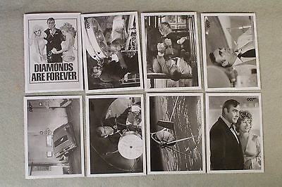 DIAMONDS ARE FOREVER 8-card Lot, 1,5,12,21,25,31,35,48 ARCHIVES 2016, Spectre Ed