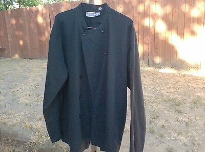 Chef Coats 3 Black size Large $12.00 for All 3 Chef Coats