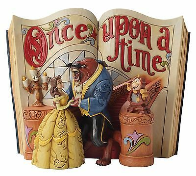 Disney Traditions Love Endures Beauty and The Beast Storybook Figurine 4031483