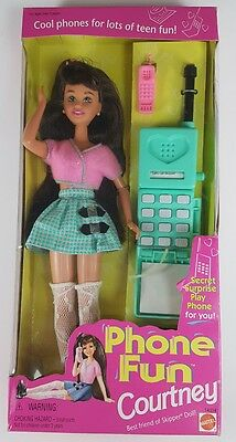 Phone Fun Courtney -Vintage Barbie 1995 - Sealed and Unopened - Read Descrip.