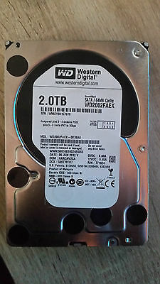 "Western Digital Caviar Black 2TB Internal 7200RPM 3.5"" (WD2002FAEX) HDD"