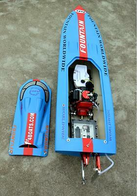"""50"""" 26CC G26IP1 Gas Brushless RC Remote Control Speed Boat ARTR Almost Ready"""