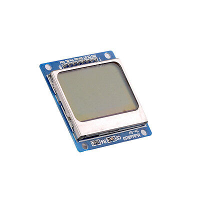 84x48 Nokia LCD Module Blue Backlight Adapter PCB Nokia 5110 LCD For Arduino M85
