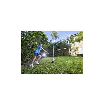 Rugby Goal Posts - TALL Posts - 1 x End set - Perfect for any Backyard or Footy