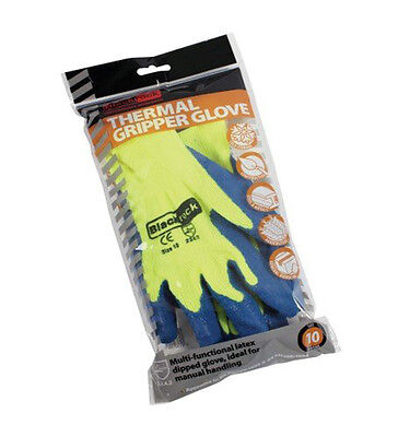 Blackrock Men's Thermal Heavy Duty Gripper Glove 12 8401100