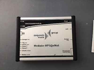 CorporateMusic Mediator MP3@email ,MoH Modul Musik On Hold,