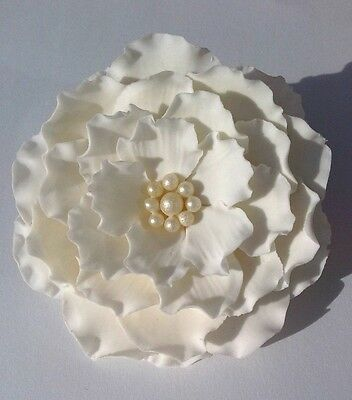 Edible large sugar flowers cake toppers,decorating,wedding,Anniversary,Birthday