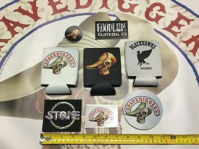STONE products  Kawasaki Harley  vest patch stickers Aussie cult classic