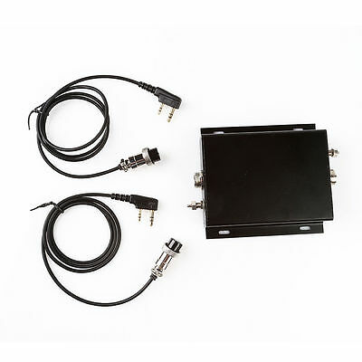 Radioddity SD-2 Digital Repeater Box for DMR Walkie Talkie Cable Interchangeable