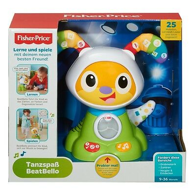 Fisher Price Tanzspaß BeatBello | Fisher Price Spielzeug ab 9 Monate