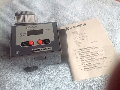 Gardena. Automatic Watering Timer C14e. Automatic Irrigation. Water Computer