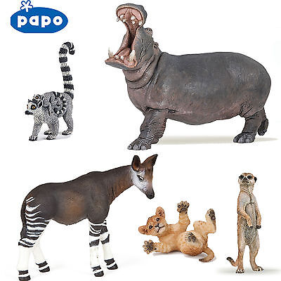 PAPO Wild Animal Kingdom AFRICA - Choose for 39 different animals all with Tags