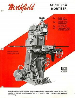 "Northfield 32/"" Band Saw Operation /& Maintenance Instructions /& Parts  PDF"