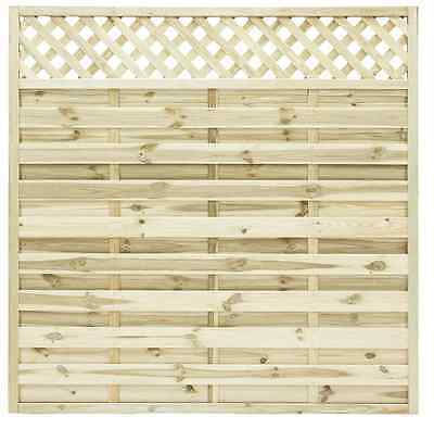European Garden Omega Lattice Fence Panel 6ft, 5ft,