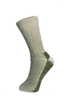 3 pairs - walking sock -  merino wool - Explorer - green - ladies 4-7