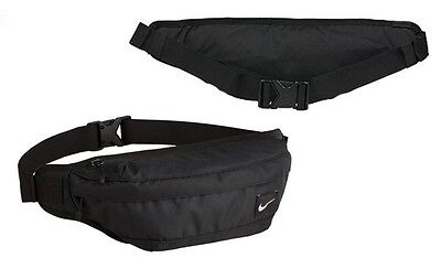 Nike Hood Unisex Waist Pack Bum Bag Belt Pouch Small - Black SALE !!