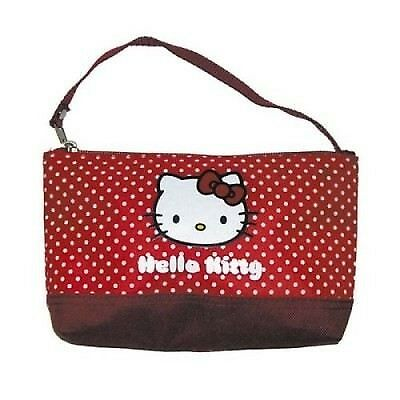 Pochette Trousse à Maquillage - Hello Kitty Rouge