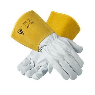Ansell 43-217 Heat Resistant Tig Mig Welding Leather Work Gloves M L XL