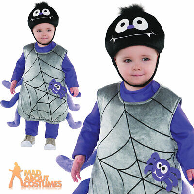 Toddlers Incy Wincy Spider Costume Baby Book Day Fancy Dress Outfit
