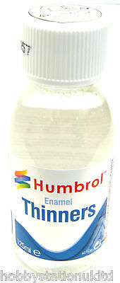 Humbrol Enamel Thinners Modelling Enamel Thinner Airfix Thinner Bottle 125ml New