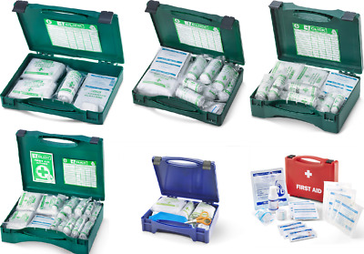 First Aid Box 1, 10, 20 or 50 Persons Kitchen Burns Kit 1st Aider You Choose Box