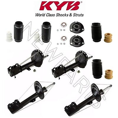 For Toyota Highlander 3.5L AWD 2008 KYB Front & Rear Struts w/ Mounts & Boots