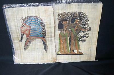 10 Papyrus Paper  Painted Ancient Egypt Egyptian Paintings