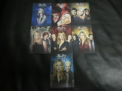 2017 Buffy The Vampire Slayer Ultimate Collector's Set Series 2 Montage Card Set