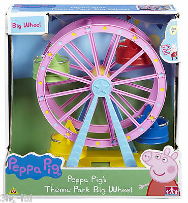 Peppa Pig Ferris Theme Park Big Wheel Toy With Exclusive Peppa Figure New