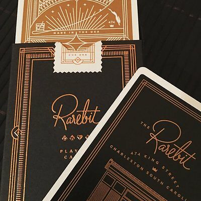 Theory 11 Rarebit Luxury Copper Rare Limited Edition Custom Poker Playing Cards