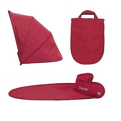 BRAND NEW BabyStyle Oyster Carrycot Colour Pack Tomato