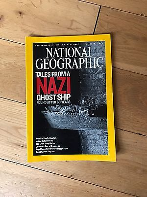 National Geographic February 2005 Tales From A Nazi Ghost Ship Etc