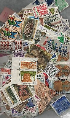 Israel Kiloware off paper 50gms fine used excellent selection 150+ stamps