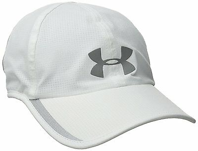 Under Armour Mens Shadow ArmourVent Cap, White 100, One Size