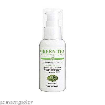 [TOSOWOONG]Green Tea Natural Pure Essence 60ml Lightening+anti-wrinkle treatment