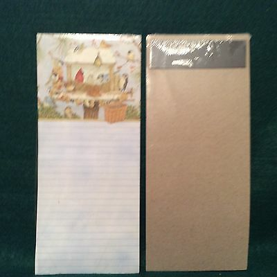 Longaberger To Do List Magnetic Note Pad BIRDS AND BASKET