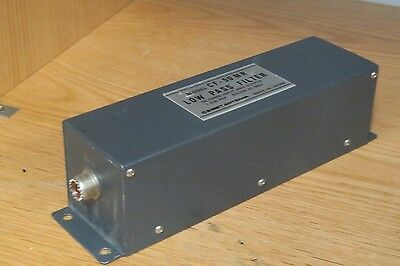 1 kW Low Pass Filter made by Met Antenna of Japan