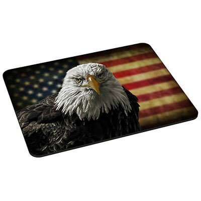 Mauspad Gaming Mousepad rutschfest Maus Pad mit Design, American Eagle Adler
