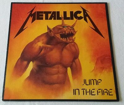 Metalllica - Jump in the Fire - EP - 1983 - Roadrunner Records Rare First Press