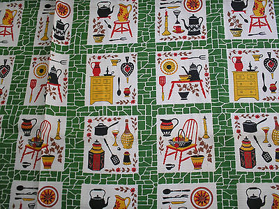 FAB VINTAGE FABRIC...C1940/50s...EXCELLENT CONDITION...UNUSED