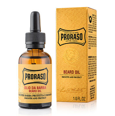 Proraso Oil Fabric Softener From Beard Toning Lotion Per Treatment