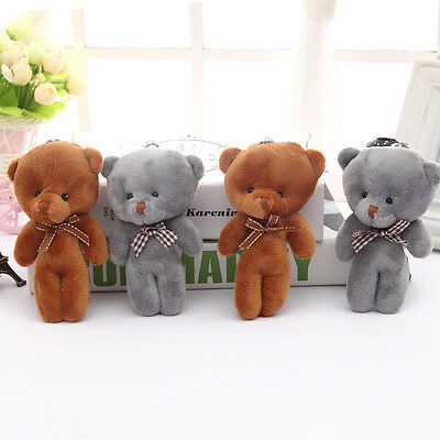 1PC Small Teddy Bear Cute Plush Stuffed Cuddly Toys Handbag Backpack Toys Gifts