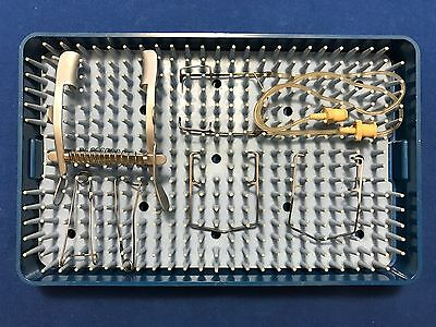 Storz Lid Speculum Set of 6 with Case