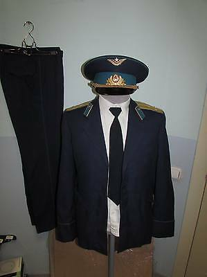 Russian soviet parade uniform of the high lieutenant of military air forces USSR