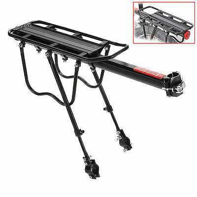 Mountain Road Bike Bicycle Rear Rack Carrier Pannier for Disc Brake Mount