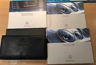 Mercedes Benz E Class Owners Handbook/Manual and Pack 2002-2009