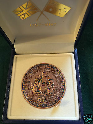 BICENTENNIAL OF FIRST FLEETERS Portsmouth to Sydney - 1787-1987 (SIRIUS)-Boxed.