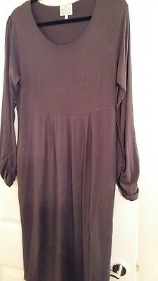 masai xl grey/brown dress