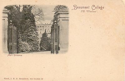 Beaumont College, Old Windser, Berkshire - c.1903 - By a French Publisher