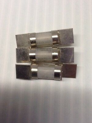 3 x lawson  SS 16A industrial fuse with offset tags